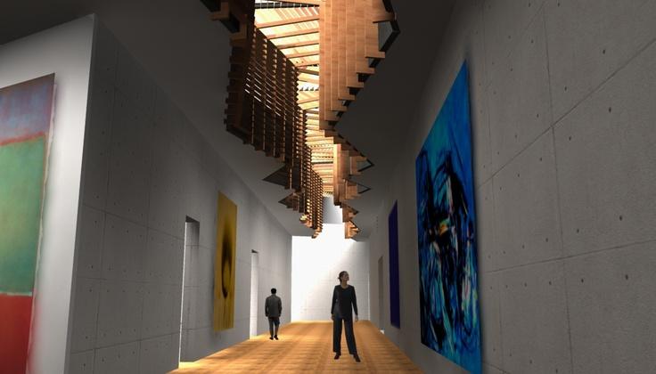 Previsualización de la ampliación del museo de arte moderno de Ceret (Francia)