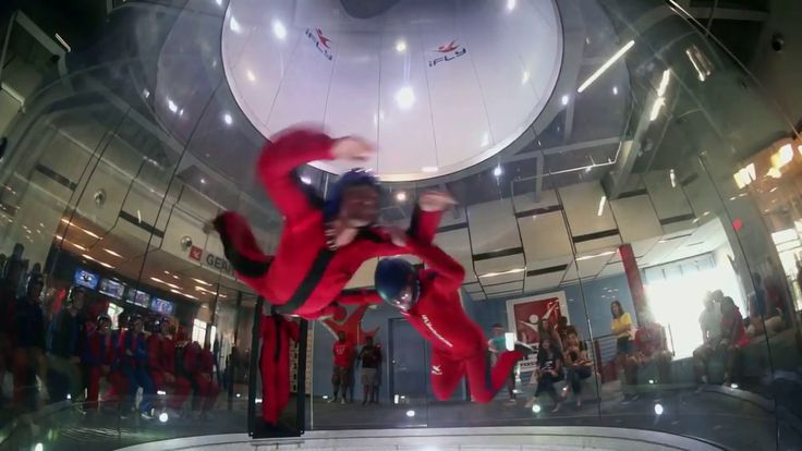 Indoor Skydiving Wind Tunnel - You've Ever Seen !!!