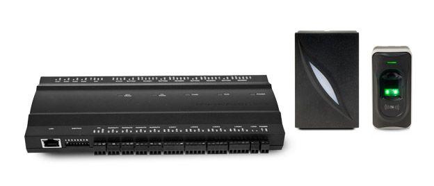 Tento centrálně řízený typ přístupového systému ACi je cenově výhodnější pro střední a rozsáhlejší instalace. K přístupovému kontroléru je možné připojit až 8 zařízení pro otevírání dveří, dle toho, kterou variantu kontroléru si zvolíte.