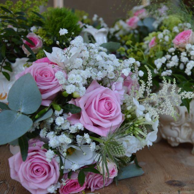 Décoration florale mariage Toulouse Bouquet de mariée - centre de ...