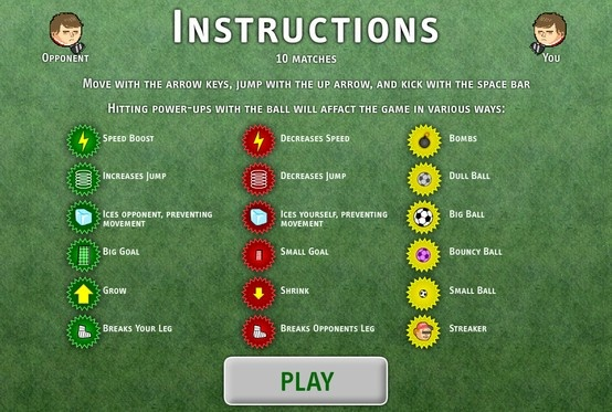 Sports Heads Football Championship - Athletic big heads are ready for you with a football match this time.  Play this Games on facebook. http://apps.facebook.com/footballchampionship
