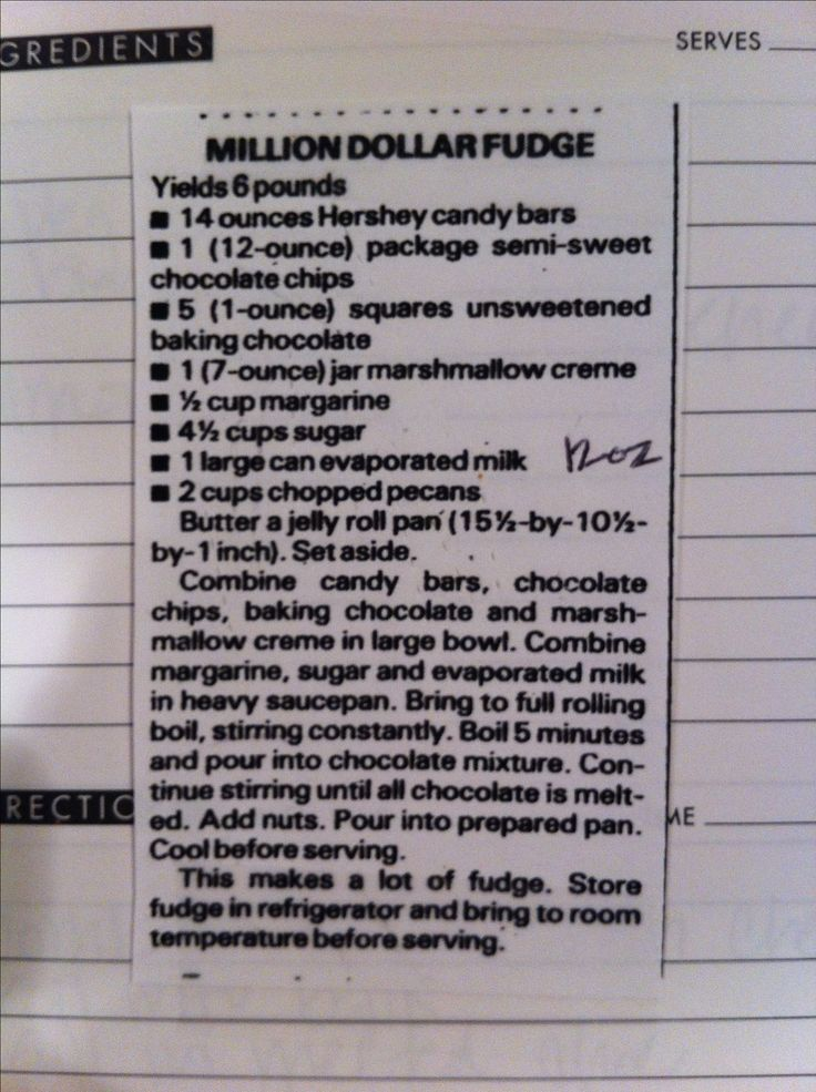 The BEST fudge recipe! Seriously! This is a family recipe that was temporarily lost. While it was missing we tried lots of other recipes and none compared to this one! Try it, you won't be sorry! :) #fudge #holiday