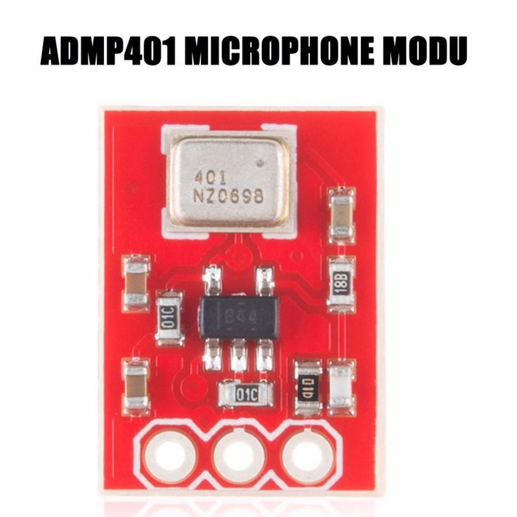 ADMP401 MEMs Microphone Breakout Module Board Universal 1.3cm*1cm With Bottom Ported Input & A Gain Of 67 Drop Shipping