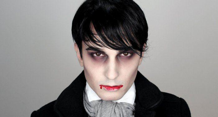 vampier schminken halloween gesichter schminken halloween schminkideen