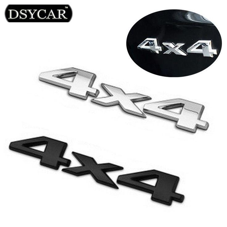 DSYCAR 3D 4x4 Four wheel drive Car sticker Logo Emblem Badge Car Styling for Fiat Bmw Ford Honda volkswagen Audi toyota opel DS ** Prover'te etot udivitel'nyy produkt, pereydya po ssylke na izobrazheniye.