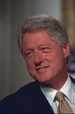President Clinton -- Photograph from the William J. Clinton Presidential Library