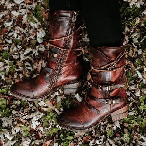 5b658e16246 womens freebird by steven moon rust rubber sole boot | ♢ FreeBird ...