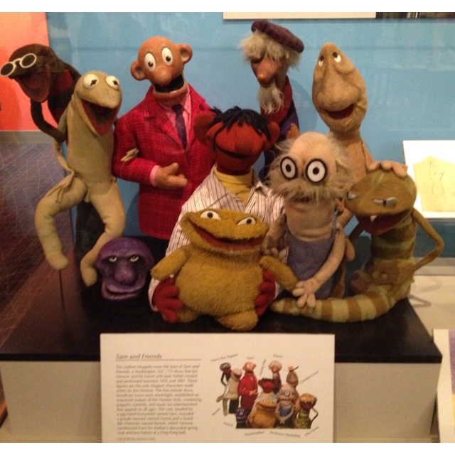 Original muppets at the Smithsonian