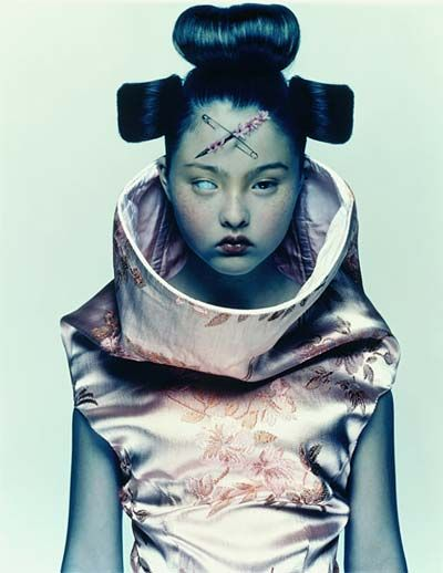 """""""Devon """" Nick Knight, (1958-), fotógrafo británico."""