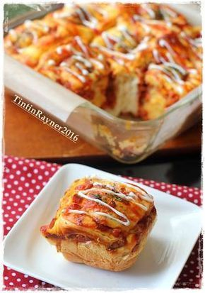PIZZA ROLL Super Empuk ala Killer Bread Recomended