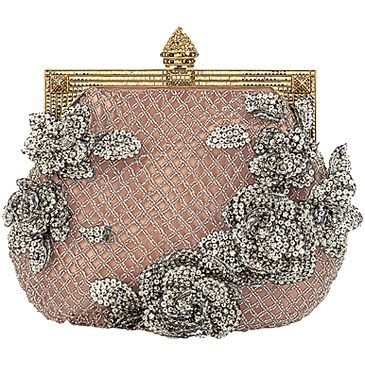 gorgeous Valentino evening bag. To be honest, I've never liked the bling that much, but this is just lovely