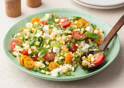 Fresh Corn and Tomato Salad | RECIPES | Pinterest