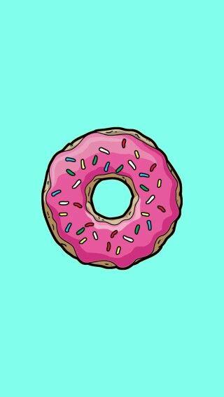 Donut phone wallpaper