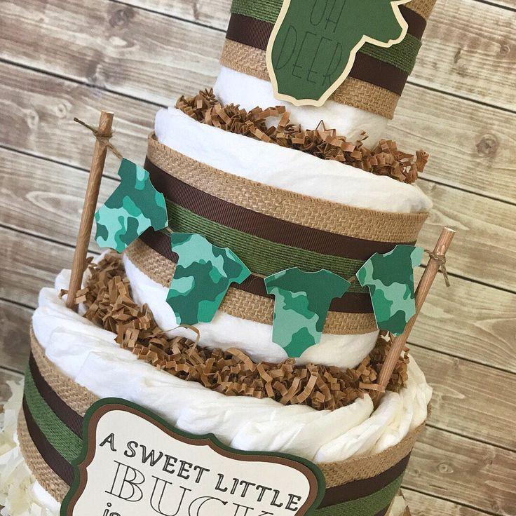 Best 25+ Camo baby cake ideas on Pinterest   Camo diaper ...