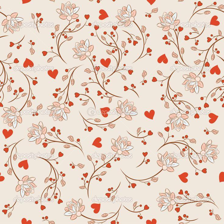 Vintage Vector Illustration | ... Ilustración floral vector en estilo vintage - Ilustración de stock