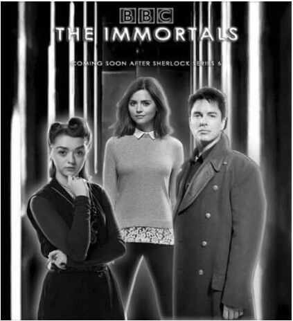 ksc DOCTOR: You're not the first, you know. I did travel with another immortal once. Captain Jack Harkness..// ASHILDR: Who?.// DOCTOR: He'll get round to you eventually. ☺♥♥