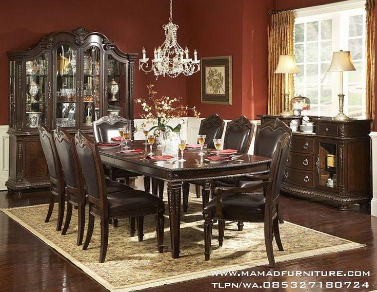 Jepara Furniture Ukiran Jati Set Meja Makan Jati Model Minimalis Ukir Set Meja Makan Jati Model Minimalis Ukir -Adalah produk meja makan jati minimalis yang berkualitas Tinggi dan harga yang sangat terjangkau.
