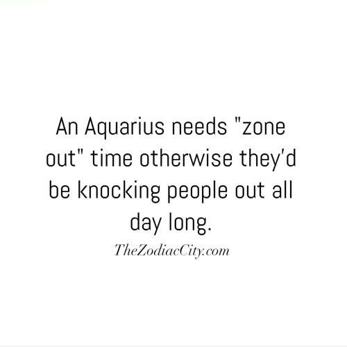 Zodiac Aquarius Fun Facts | TheZodiacCity.com