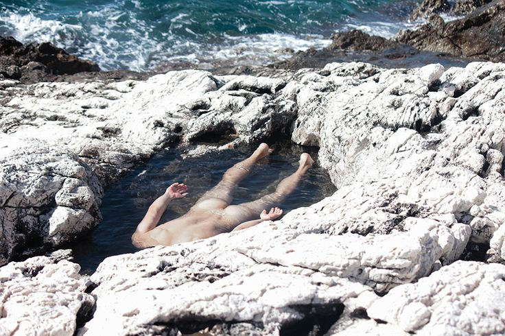 London-based Greek writer and director Helias Doulis's sequence of evocative photographs depicting nude bodies amidst a rocky shoreline, explores the male sensitivity around society's perception of homosexuals, and their creation of a sheltered abandonment. Doulis' Parabyss: A Nurtured Nature series is poetic, cinematic and nostalgic. www.heliasdoulis.com
