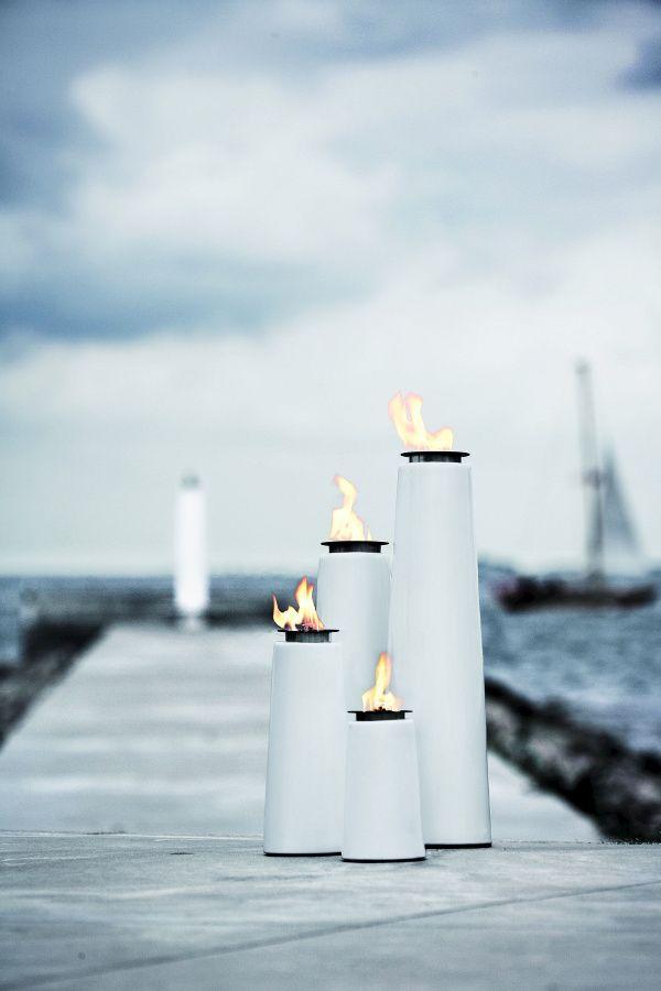 #Menu #Lighthouse #OilLamp by #ChristianBjørn #outdoorfurniture #outdoorliving  #outdooraccessories #porcelain