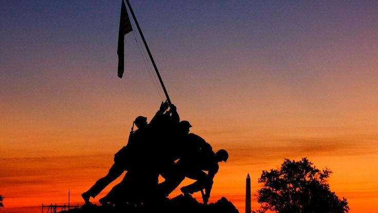 The U.S. Marine Corps will celebrate its 242nd birthday on Nov. 10. Pictured is the U.S. Marine Corps War Memorial in Arlington, Va.