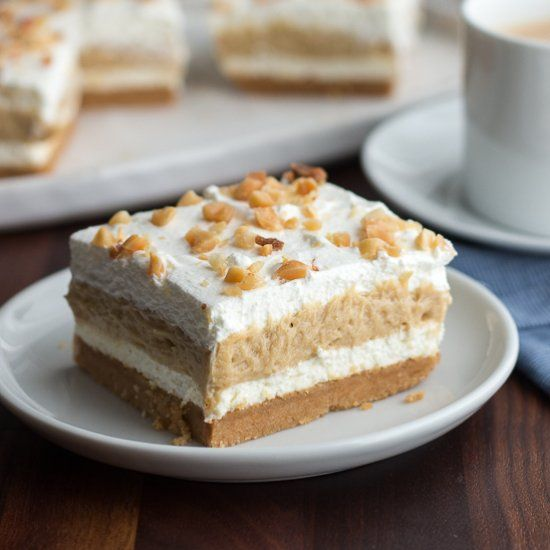 This easy peanut butter layered dessert is a real crowd for Peanut butter recipes easy dessert