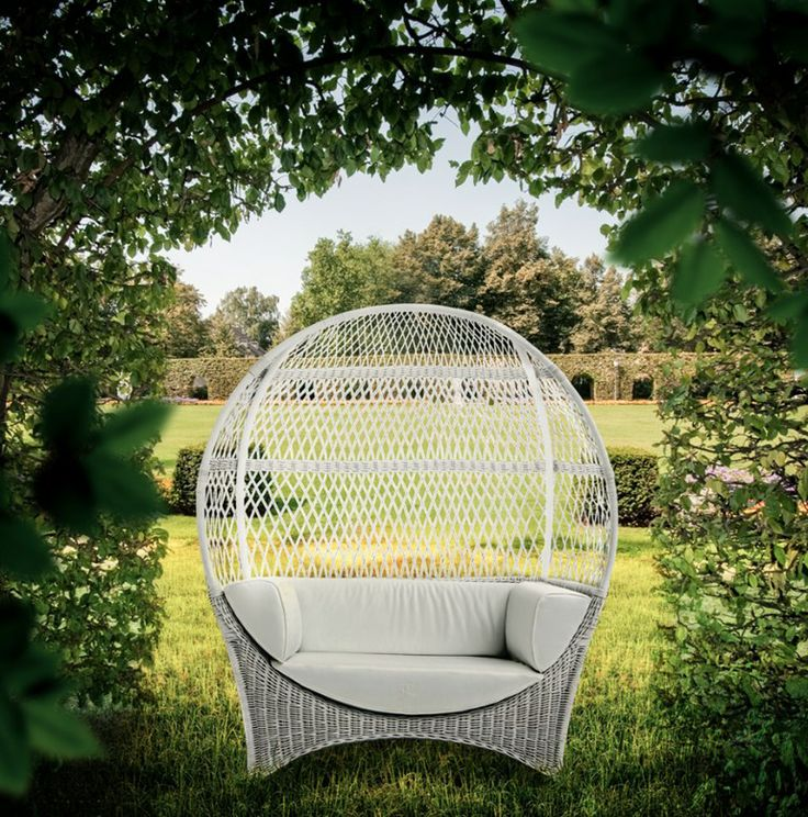 125 best ideas para jardin images on pinterest for Sofa exterior jardin