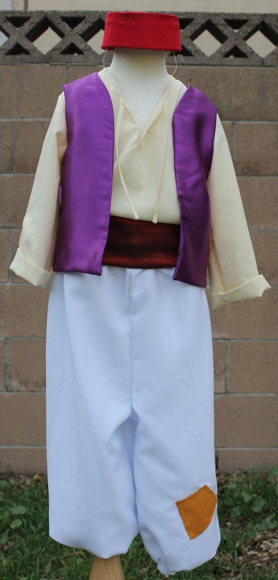 Aladdin Costume Size 6-8 by CaitsBoutique on Etsy