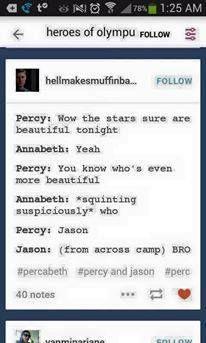 #PJO #HoO | Bros | Bromance | Brotp | Jason and Percy | Annabeth