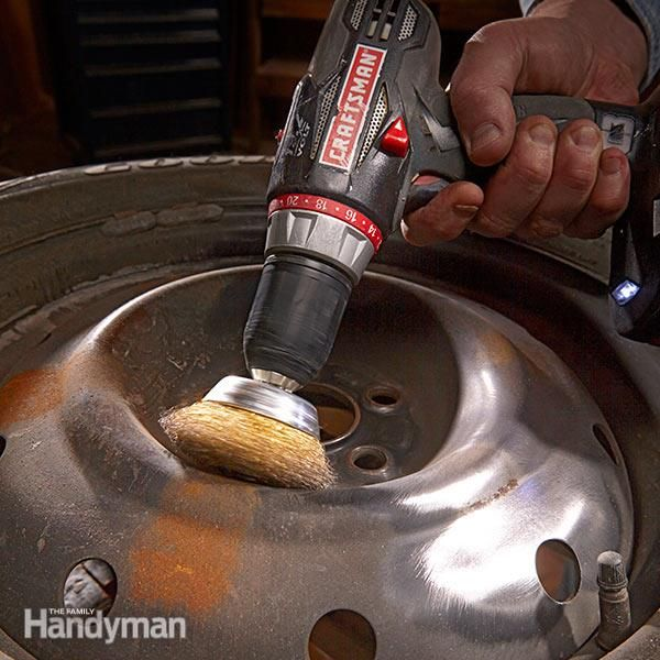 <p>if you go through the trouble of detailing your aging car, sooner or later the rusty wheels are going to bug you. here's how to refinish the wheels so they look new again.</p>