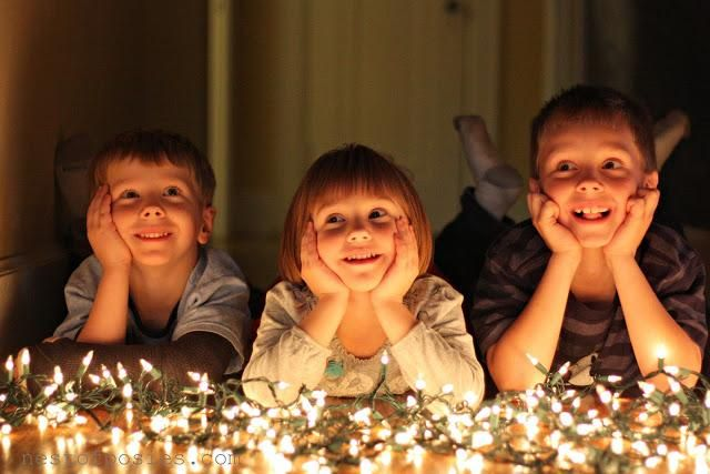 How to capture memorable Holiday Photos with your family at night.
