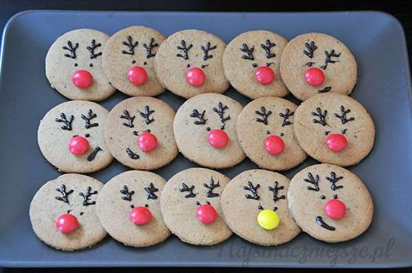 Pierniczki z Rudolfem, pierniczki, święta, ciasteczka dla dzieci, renifer, Gingerbread with Rudolf, gingerbread, Christmas, cookies for kids, reindeer, najsmaczniejsze.pl