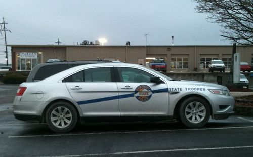 Kentucky State Police testing the new Ford Taurus