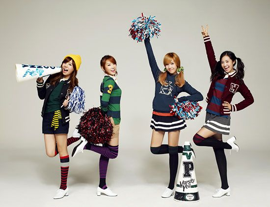 Girl group SNSD photoshoot