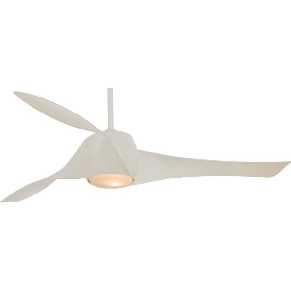 Minka-Aire Artemis Fan F803-WH, at Del Mar Fans & Lighting, with product video
