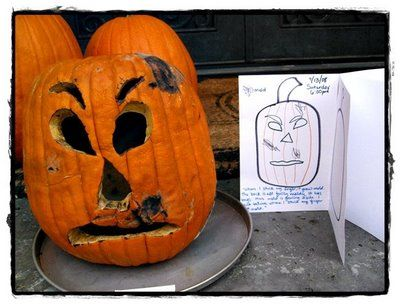 What happens to a rotting pumpkin?  Fun site for kids to see the progression.
