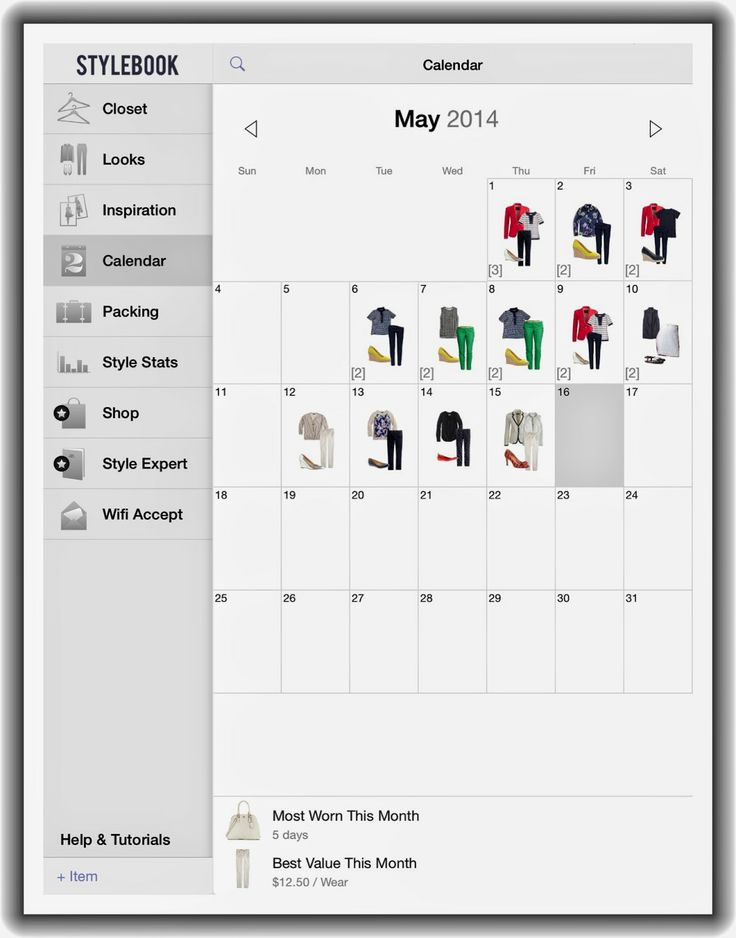 How To Plan A Capsule Wardrobe With Stylebook @lenamorrissey should we try this app?