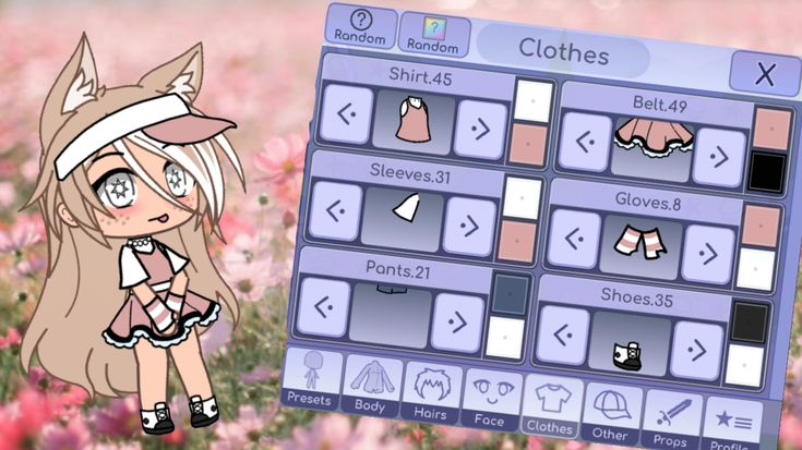 Cute Aesthetic Gacha Outfit🥴🤚🏻 In 2020 Cute Anime