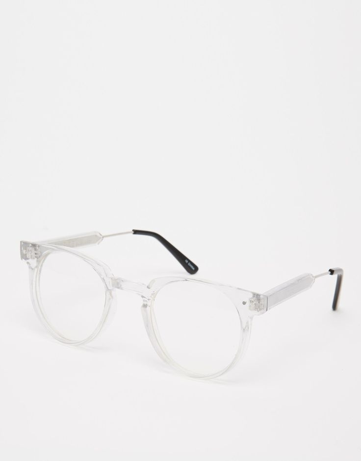 Geek Chic. Spitfire Clear Glasses. LOVE! http://asos.do/zj7AY4