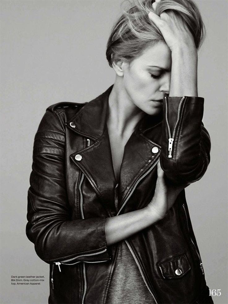 Charlize Theron by Bjarne Jonasson for ELLE UK June 2015. I would love this as a poster for my room!