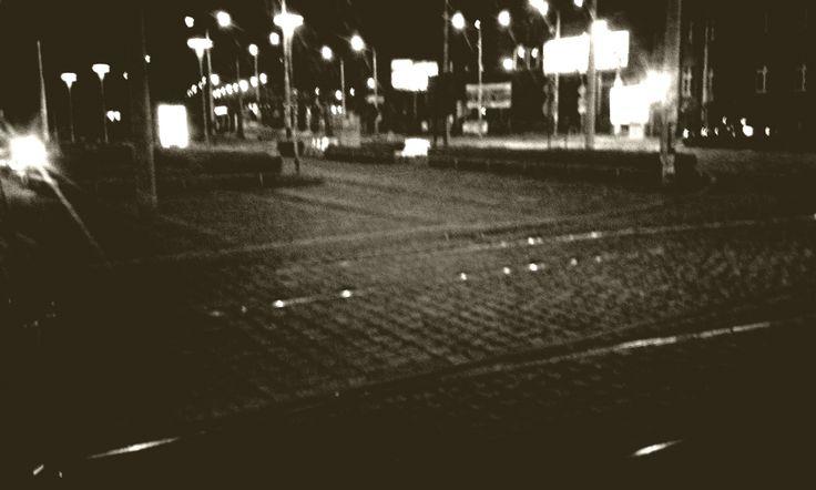 Photo Wrocław by Night (Filters Test) Contrast  MonoEF. by Marcin Kubiś on 500px