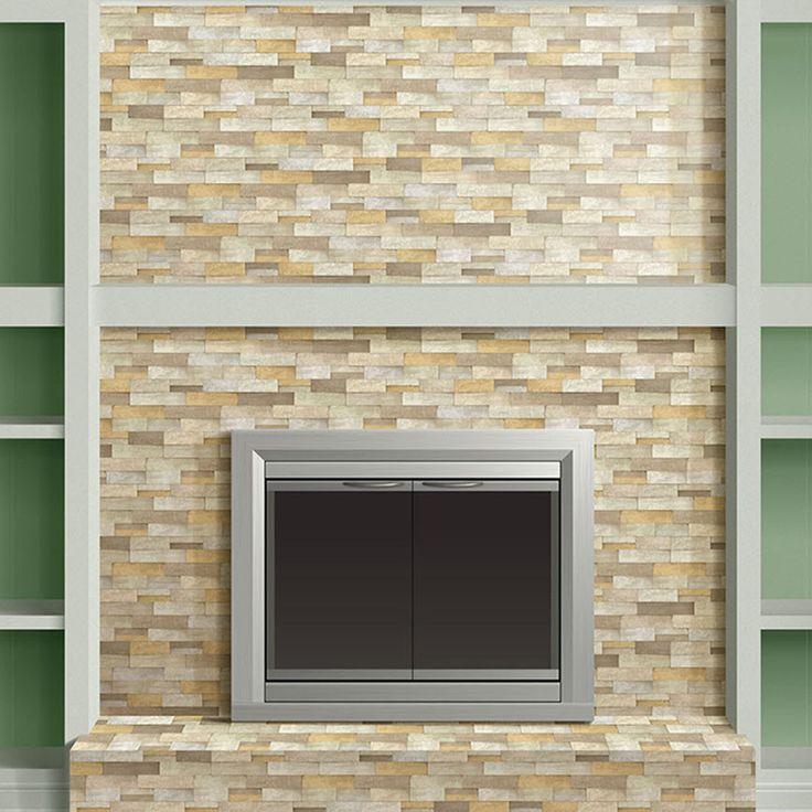 Shop Desert Quartz Ledgestone Natural Stone Random IndoorOutdoor Wall Tile Common 6in x 12
