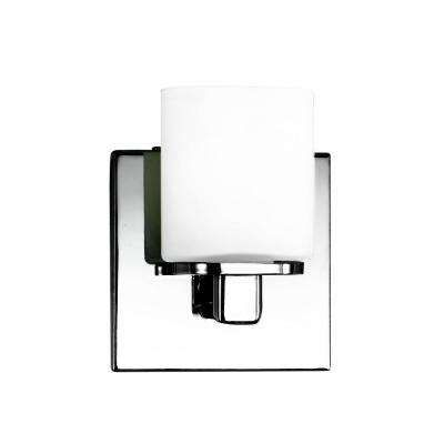 Marond Collection 1 Light Chrome Wall Sconce