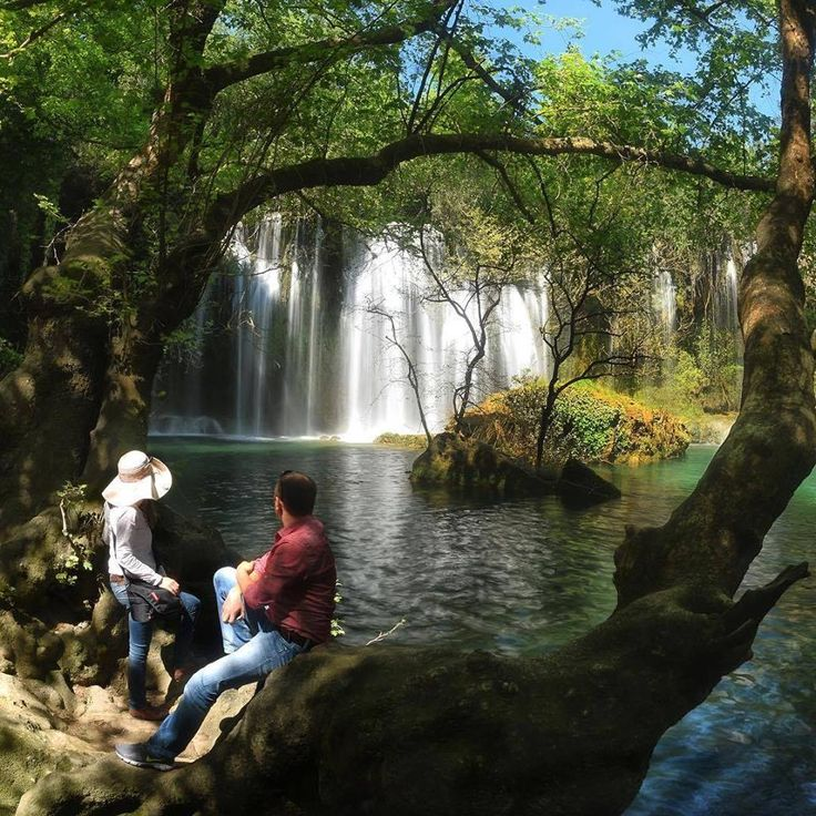 Kurşunlu Waterfalls in Antalya in the middle of a 2 kilometer canyon is worth the visit for the visual splendor and the 200 year old mill!
