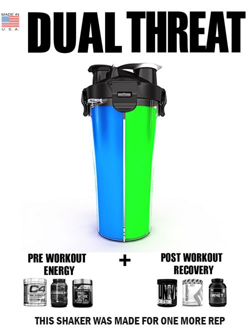 Protein Shaker Bottle with dual shaker core makes HydraCup the best! #HealthyHolidays
