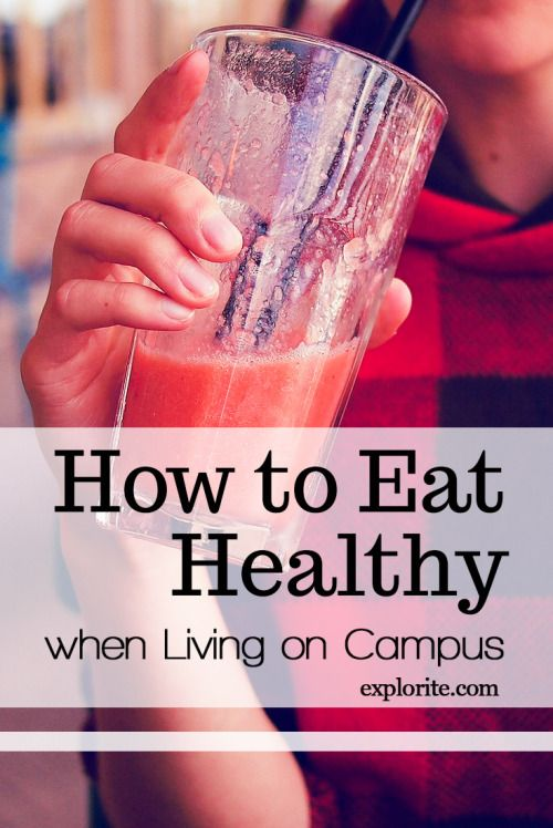 123 best life fitness images on pinterest college fitness how to eat healthy when living on campus ccuart Image collections