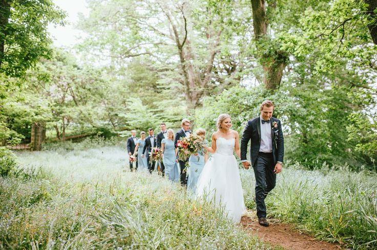 Enchanted forest wedding at Milton park, Bowral