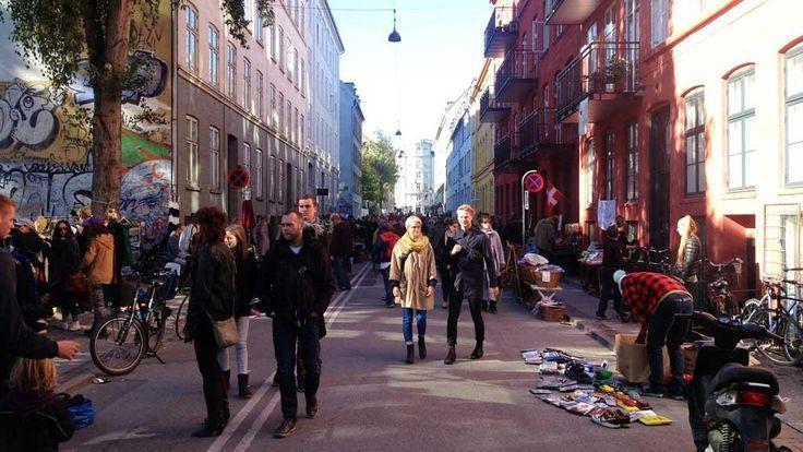 Ravnsborggade - Monthly street market
