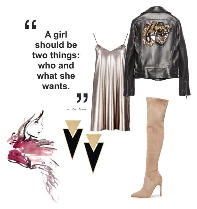 """""""coco mademoiselle"""" by missrorodu46 on Polyvore featuring mode, Boohoo, Gucci, Kendall + Kylie et Yves Saint Laurent"""