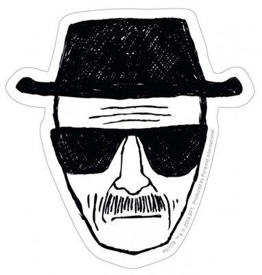 Autocollant Heisenberg Breaking Bad